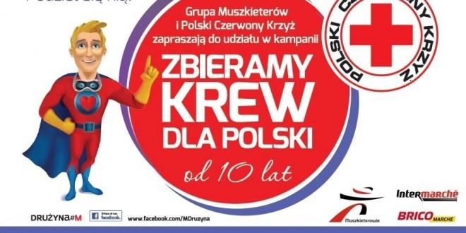 Zbieramy krew dla Polski od 10 lat